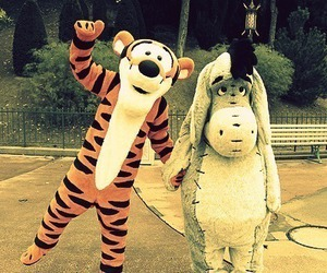 disney, tiger, and friends image