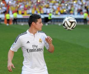 10, real madrid, and james rodrigues image