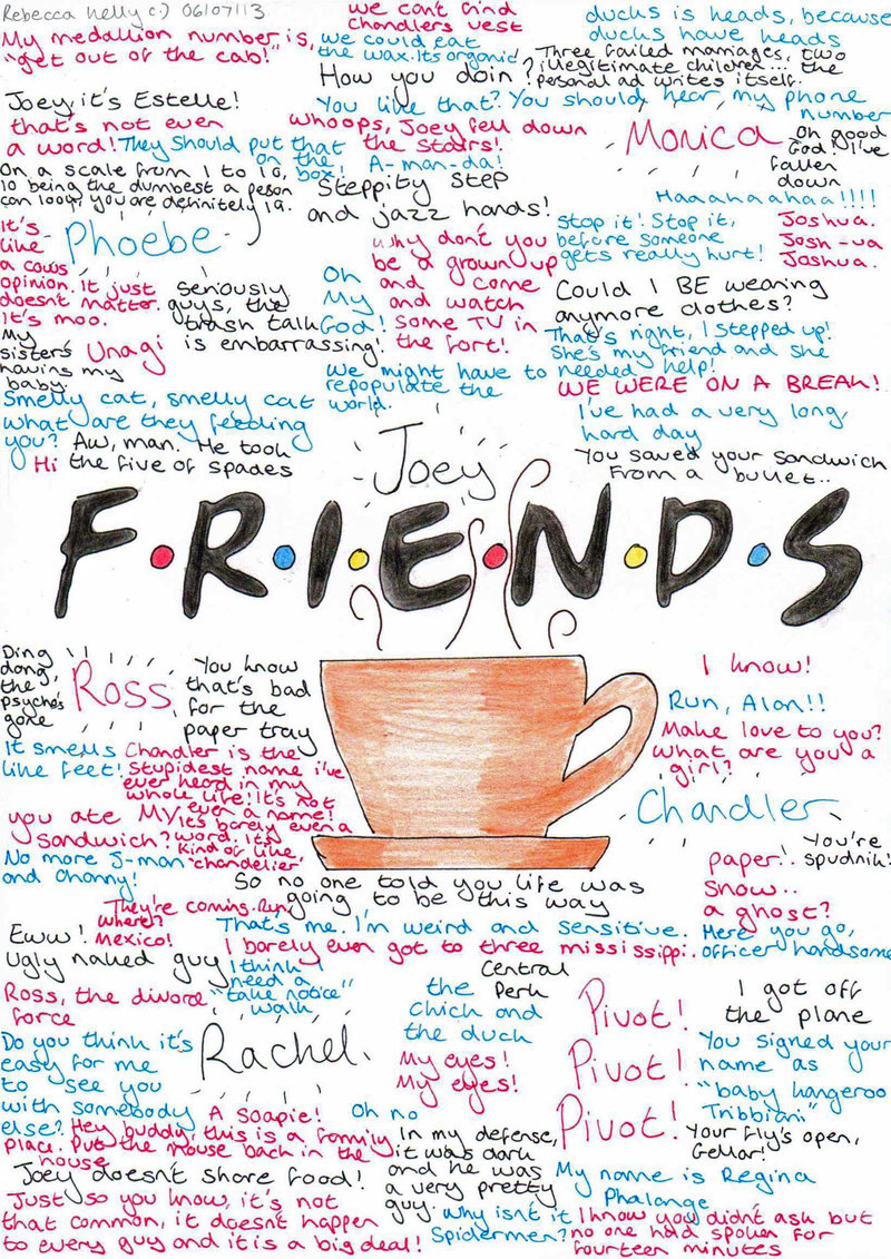 Quotes About Friendship And Memories F.r.i.e.n.d.s Quotes And Memories  Séries E Filmes Pinterest