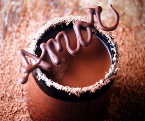 love, chocolate, and sweet image