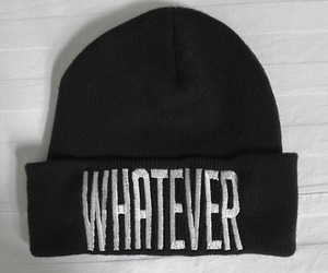 whatever, beanie, and hat image