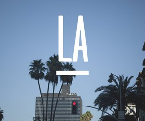 la, los angeles, and california image