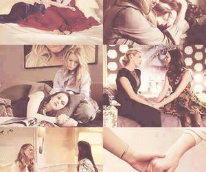 blair and serena, friendship, and together image