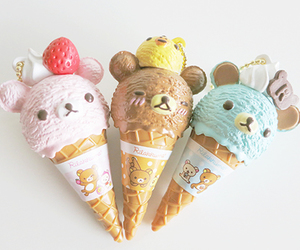 cute, ice cream, and kawaii image