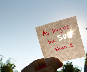 quote, sun, and cute image