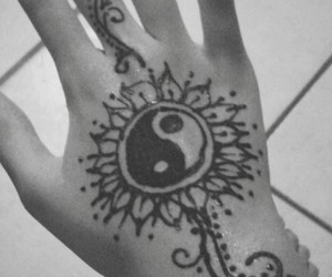 henna, Tattoos, and indian culture image