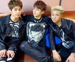 jin, suga, and j-hope image
