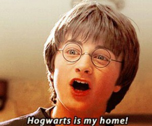 harry potter and hogwarts is my home image