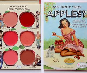 apple, makeup, and thebalm image