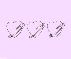heart, pink, and pastel image