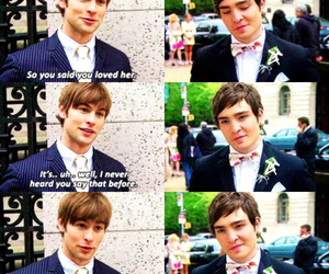 chuck, chuck bass, and gg image