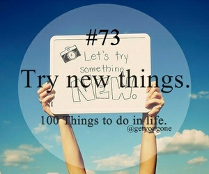 creative, fun!, and new things image