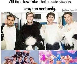 alex gaskarth, all time low, and music video image