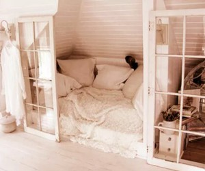 bed, romantic, and sleep image