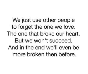 love and broken image