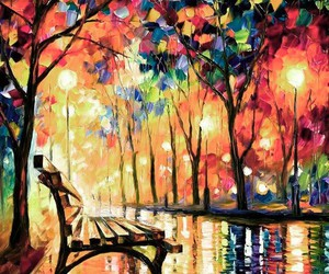 beautiful, colorful, and painting image