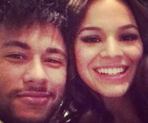 Bruna, couple, and neymar image