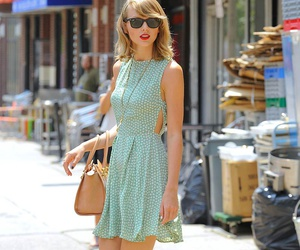 Taylor Swift, beautiful, and dress image