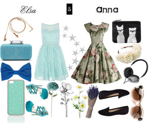 anna, fashion, and flowers image