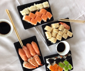 delicious, dinner, and japanese image