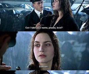 titanic, rose, and movie image
