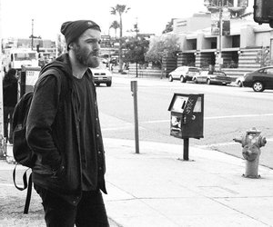 chet faker, black and white, and hipster image