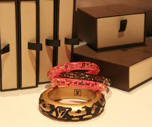 Louis Vuitton, bracelet, and pink image
