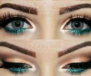 eyes, look, and beauty image