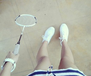 badminton, play, and sports image