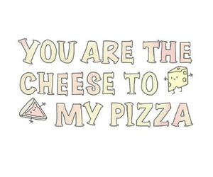 pizza, overlay, and cheese image