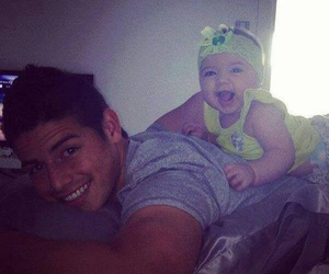 james rodriguez, colombia, and baby image