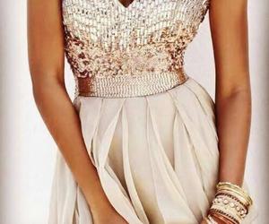 beautiful, dress, and jewell image