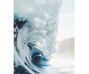 waves, ocean, and summer image