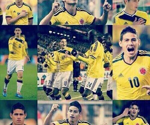colombia, handsome, and football image