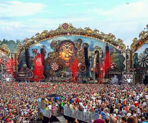 festival, Tomorrowland, and dance image