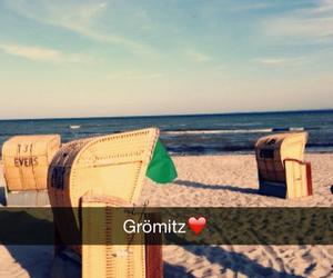 beach, summer, and schön image