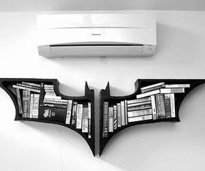 batman, book, and black image