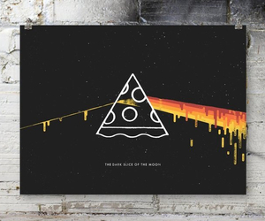 art, Pink Floyd, and pizza image