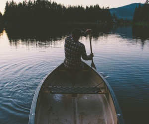 boy, boat, and indie image