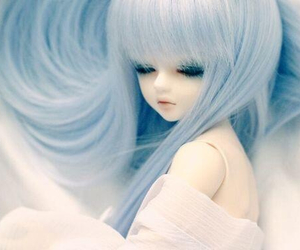 doll and 水色 image