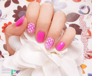 girls, lovely, and nail image