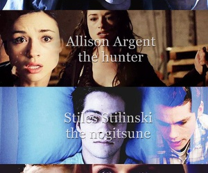 teen wolf, alpha, and hunter image
