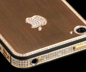 apple, diamonds, and gold image