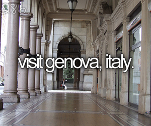 before i die, genova, and italy image