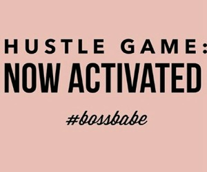 hustle and bossbabe image