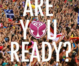 Tomorrowland, ready, and love image