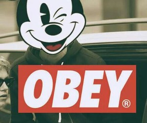 obey, mickey, and swag image