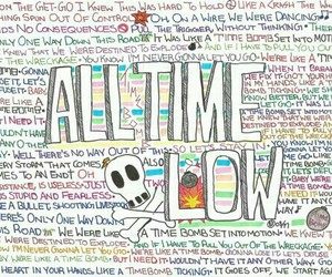 all time low, atl, and band image