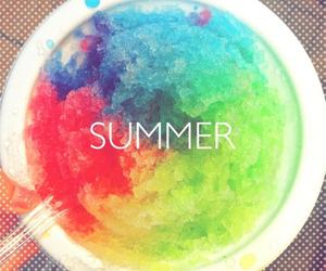 summer and rainbow image