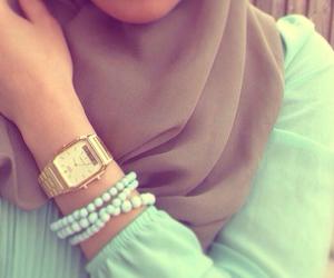 girl, hijab, and luxury image